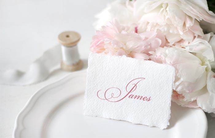Svatební jmenovky