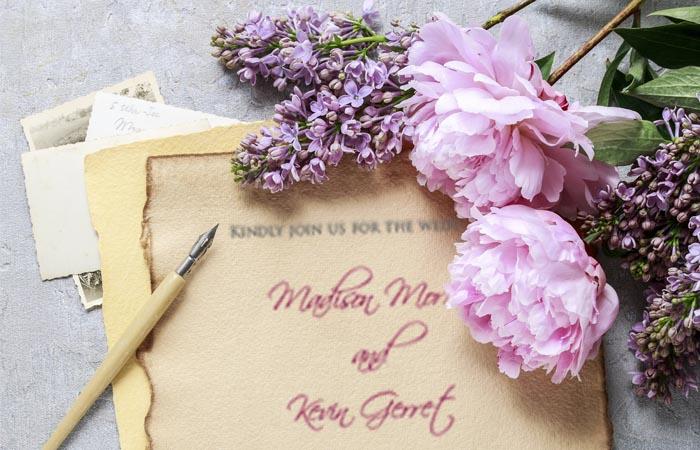 Svatební texty a svatební verše.