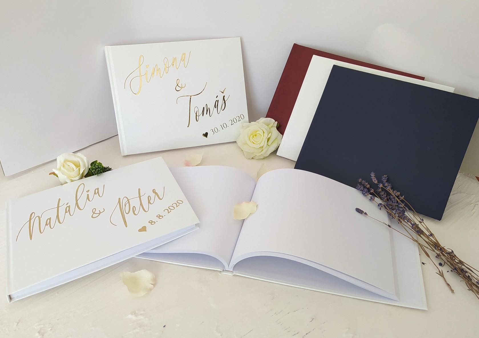 Navrhněte si svou svatební knihu
